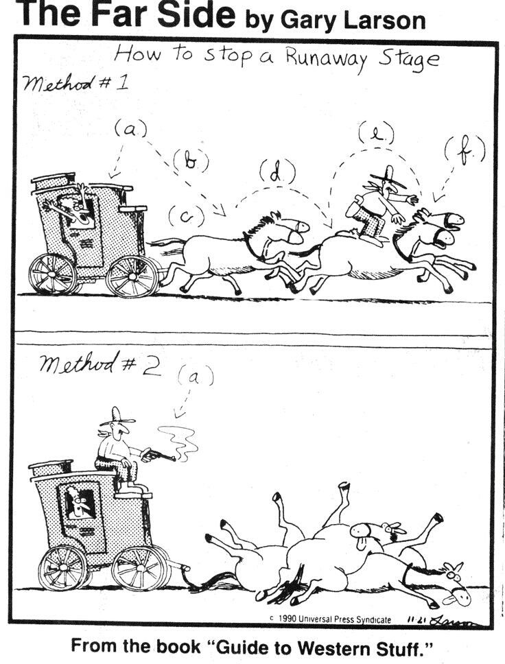 Far Side Gary Larson Wolf Cartoons