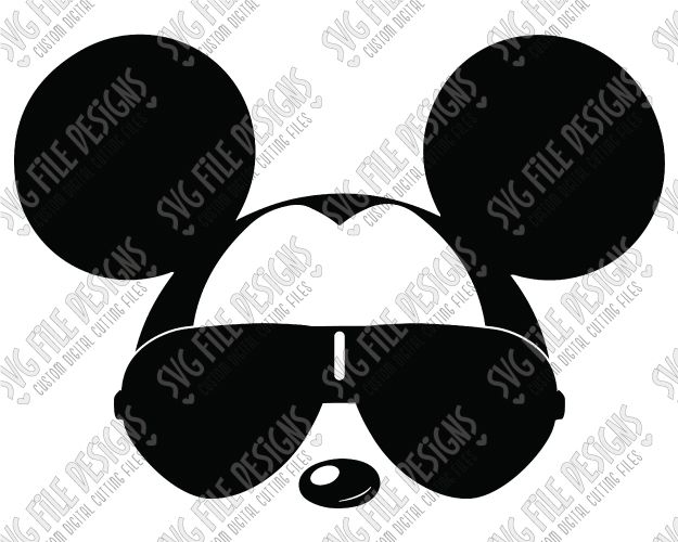 Mickey With Glasses Svg | David Simchi-Levi