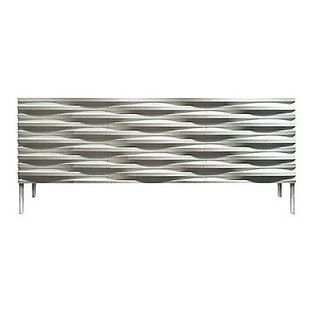 Content by Conran Wave Sideboard - This sideboard tells your dinner guests that you are cool and have killer taste. Oh yeah, and it stores a smorgasboard of stuff inside, while providing the surface for a true smorgasboard on top.