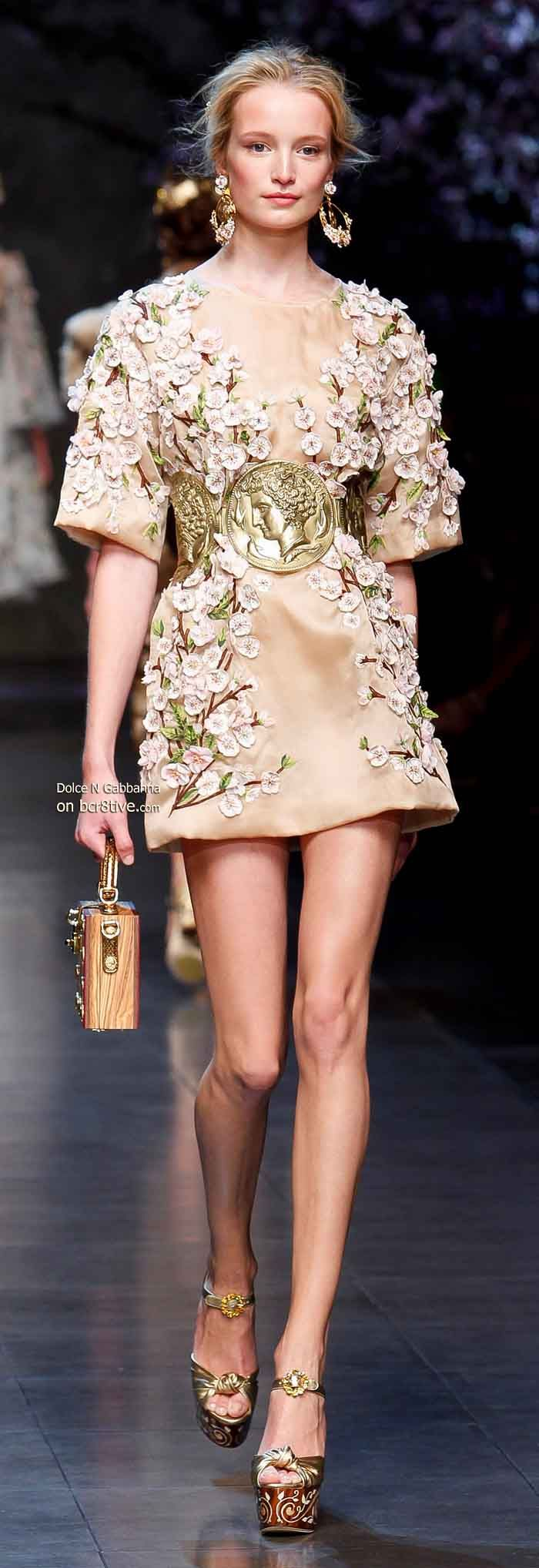 Dolce & Gabbana Spring 2014  Roman inspiration