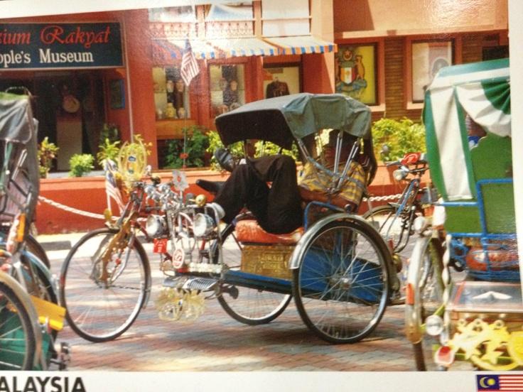 Becak Malaysia