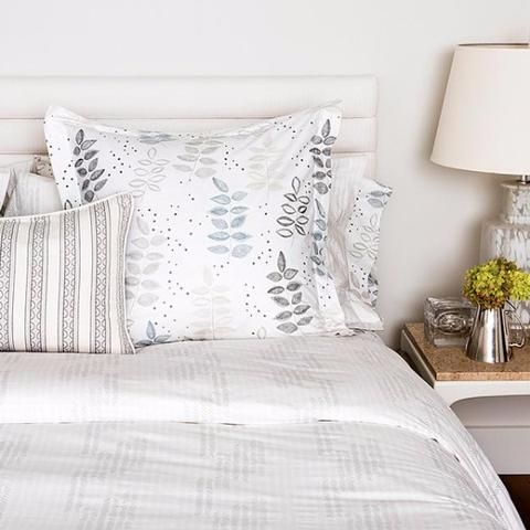 Birch Etched Chevron Duvet Cover   Sham Set by Mintwood Home