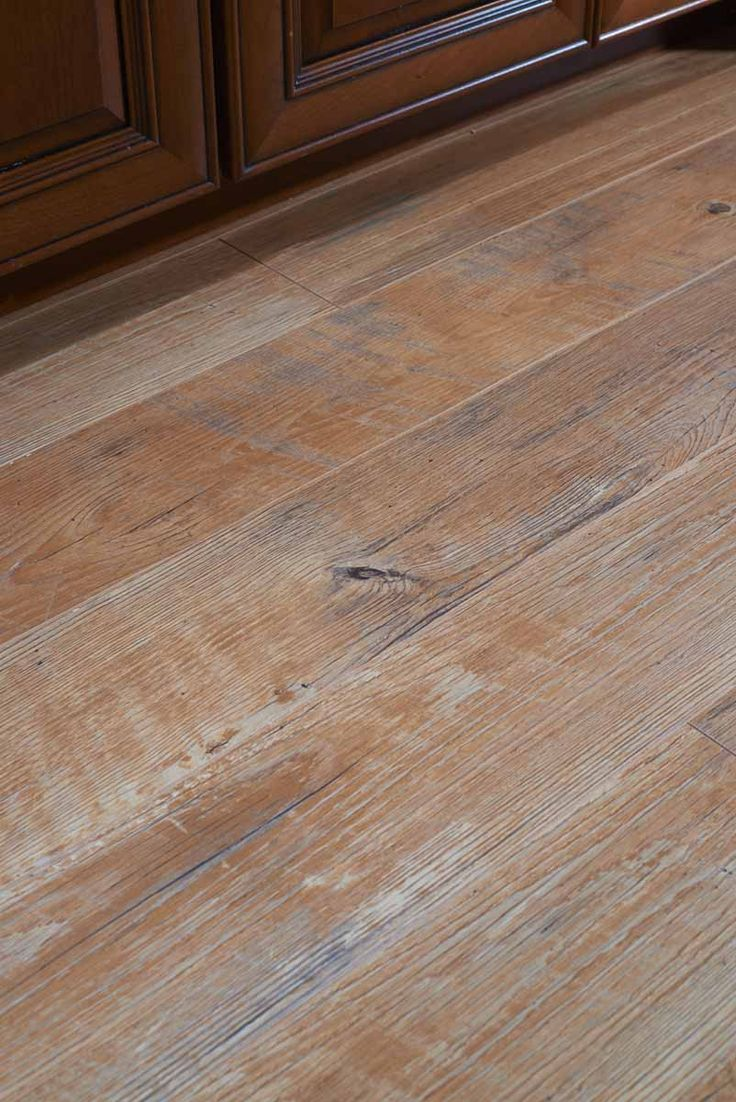 Laminate flooring that looks like wood!