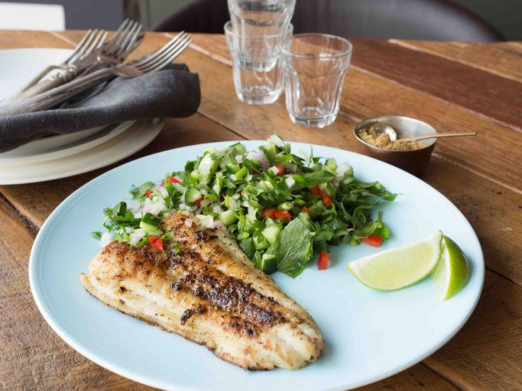 Barbequed Fish with Thai Lemongrass, chilli & ginger seasoning