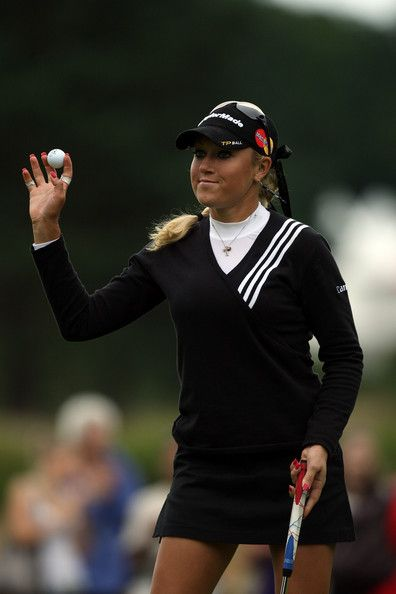 Natalie Gulbis - Ricoh Women's British Open - Round Four 2008