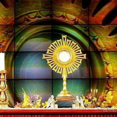 Canto, letra y video de la tradicional oración de la Iglesia Católica, especialmente sugerida para después de haber recibido la Sagrada Eucaristía.