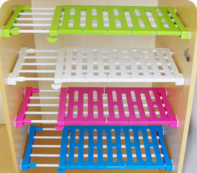 Шкаф Шкаф Для Хранения Стойки Телескопические Слоистых Кухонный Шкаф Раздела Сепаратор Разделены Полки
