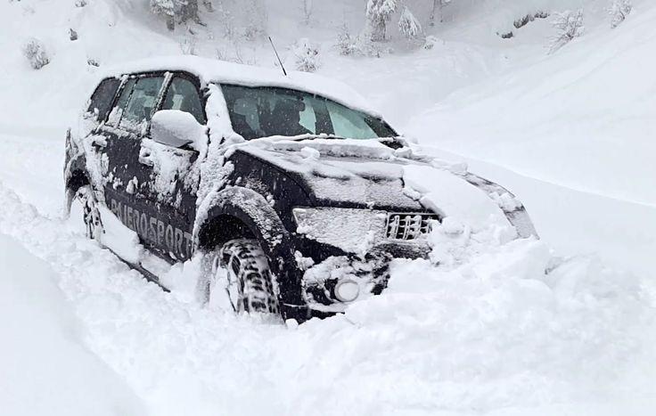 Extreme #SnowDrive - Mitsubishi Pajero Sport  #PajeroSport #mitsubishiPajero
