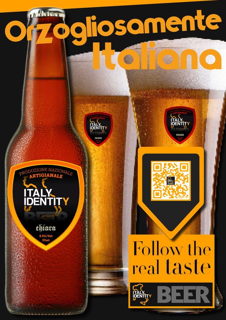 The new italian craft beer by ITALY IDENTITY - Le nuove linee di birra artigianale italiana
