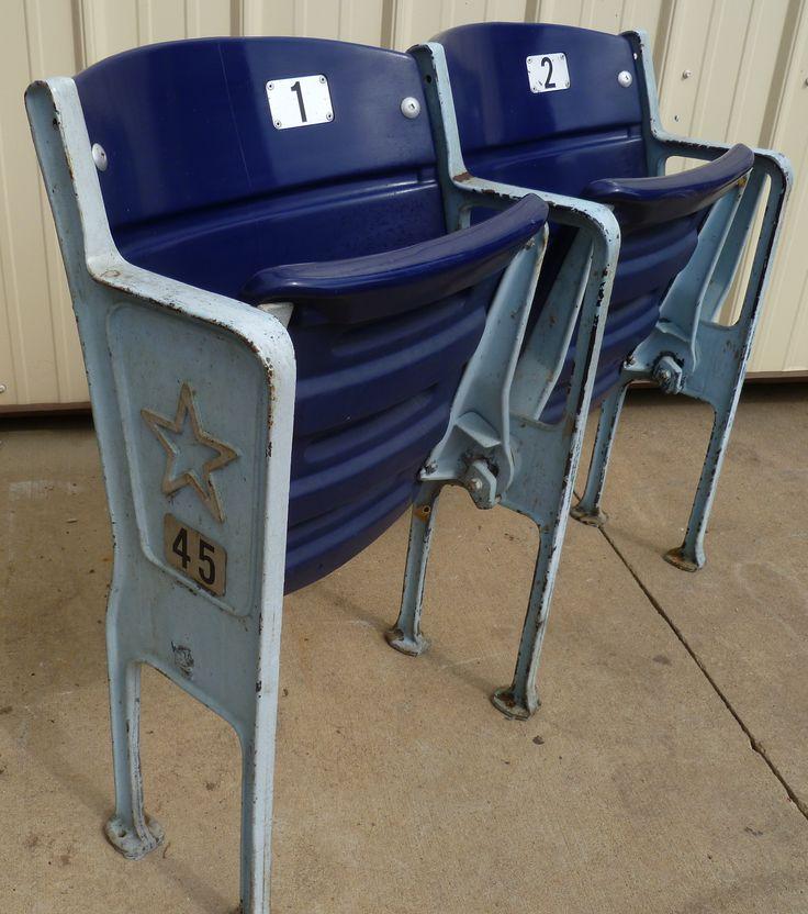 Texas Stadium seats - Dallas Cowboys memorabilia