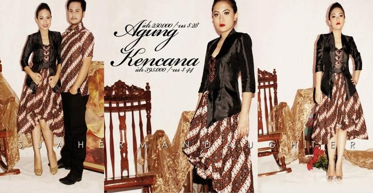 kebaya + batik