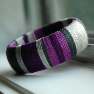 IndigoElephant: Wrapped Bangle.