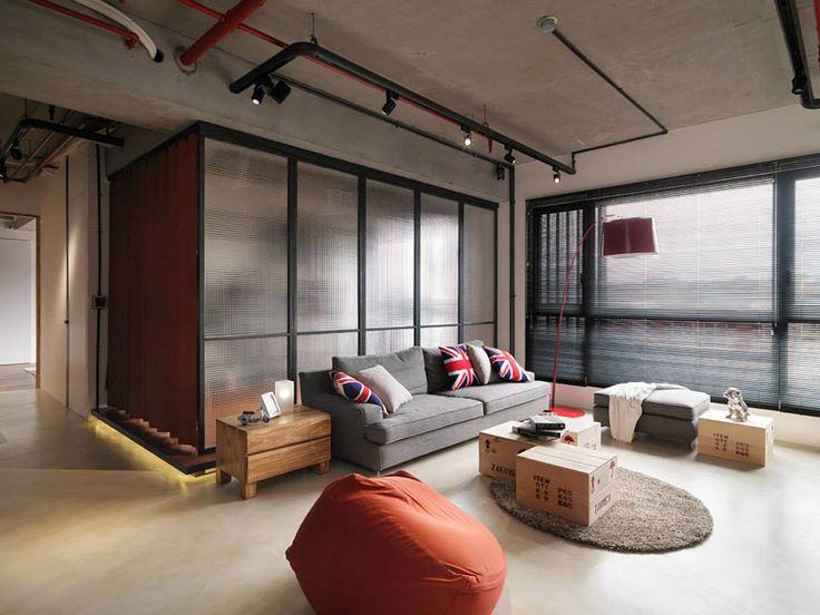 Taipei Loft Style Apartment By Fungo Design Decomyplace News