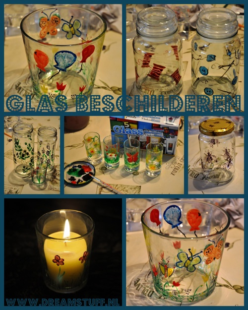 Dreamstuff: Glas beschilderen - Painting Glass