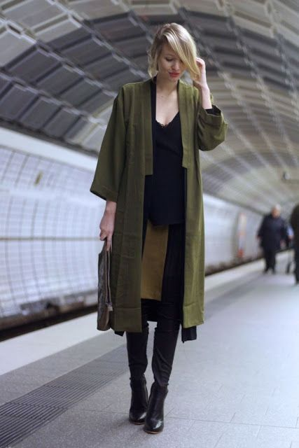 Fall trends | Khaki street outfit