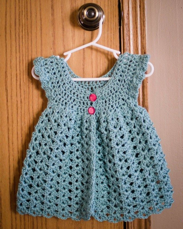 37 Creative Photo Of Vintage Crochet Baby Dress Pattern Vintage