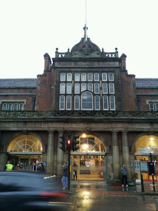 Stoke-on-Trent Railway Station (SOT) in Stoke-on-Trent, Stoke-on-Trent