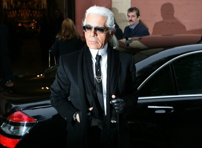 """When I was four I asked my mother for a valet for my birthday."" - Karl Lagerfeld, Chanel #fashionquotes"