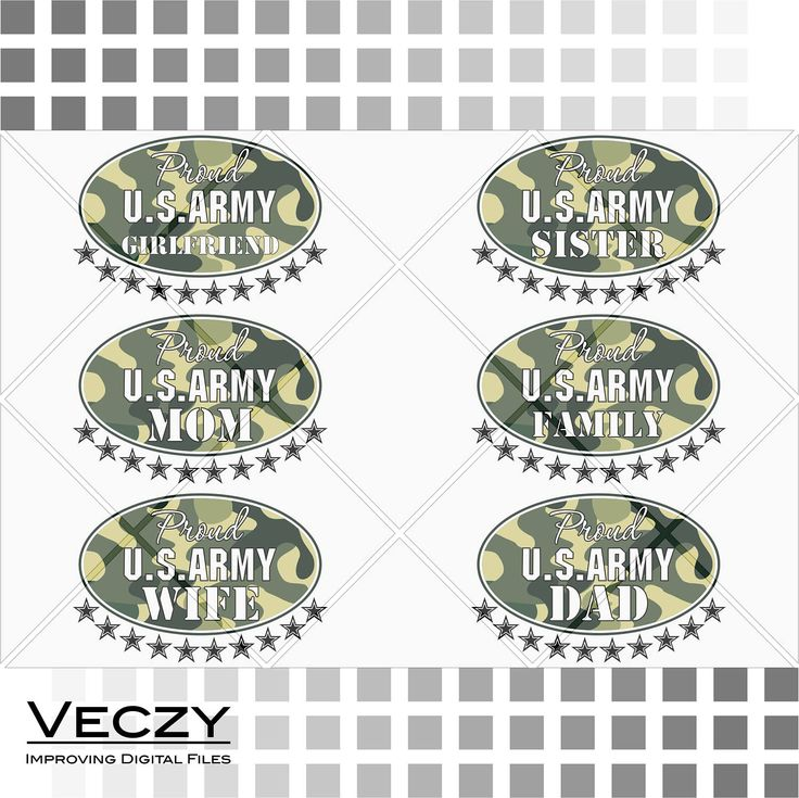 Army SVG, Proud army dad, proud army mom, proud army girlfriend, proud army family, proud army sister, proud army wife, svg files for cricut by Veczy on Etsy