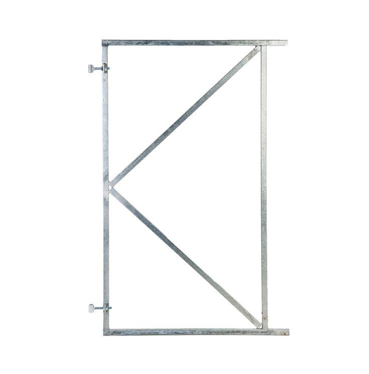 Ijzeren deurframe tuindeur op maat Stalen frames schutting deur
