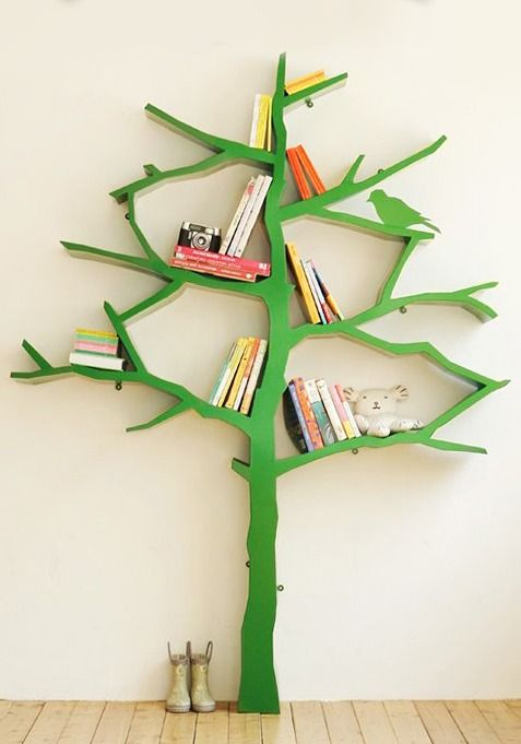 If you're looking to create a sweet and playful space for your baby to explore and learn in, then this tree bookshelf would make a lovely addition to your nursery design or playroom.