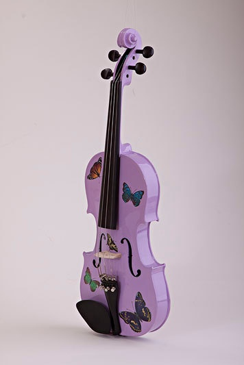 Lavender violin...want.