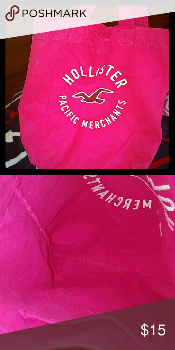 Hollister Bag Hollister Bag, great condition.. $20 Hollister Bags Totes