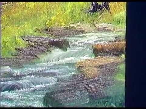 Боб Росс - Учимся рисовать ручей на лугу  (5 сезон)