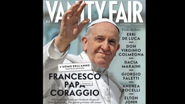 El #Papa Francisco es el 'Hombre del Año', según Vanity Fair. #Peru21