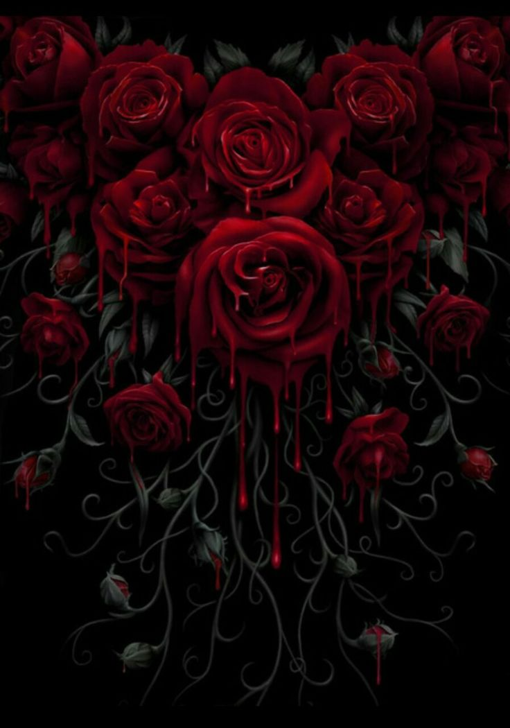 Rosas Rojas Mis Favoritas Gothic Art Beautiful Dark Art