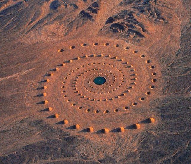 "#TBT 1997 - ""Desert Breath"" was a site specific project by D.A.ST. arteam ( Danae Stratou, Alexandra Stratou, Stella Constantinides) in the eastern Sahara desert, Gouna, Egypt (LP)"