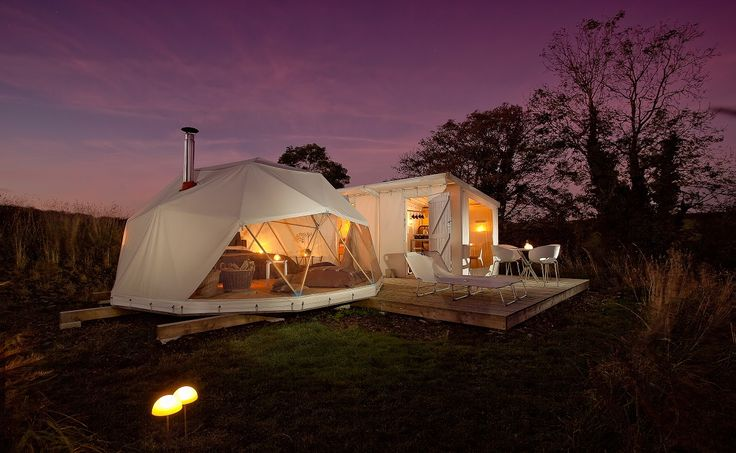 Glamping in the English Countryside