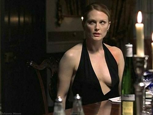 "Julianne Moore as ""Clarice Starling"" in The Hannibal"