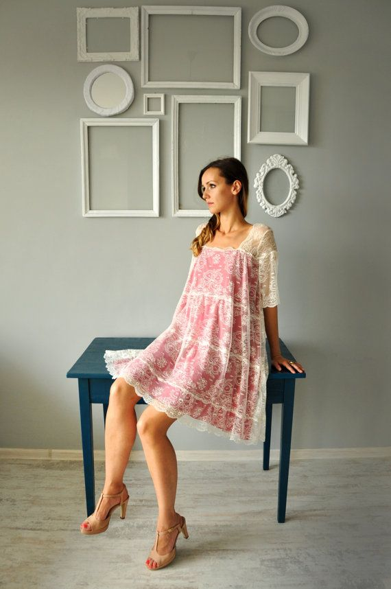 Lace Dress by HannaBoutiqueHB on Etsy, €91.00