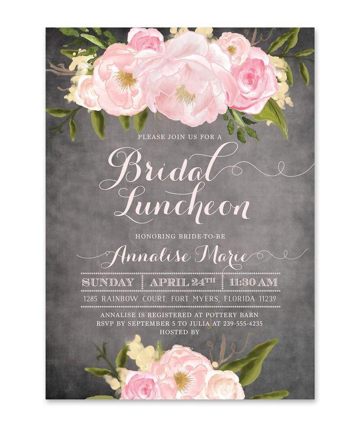 Best 25 Bridal luncheon invitations ideas on Pinterest