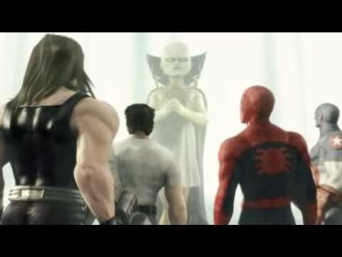 [ps2] [Pt.1b] Marvel: Ultimate Alliance cinematics.