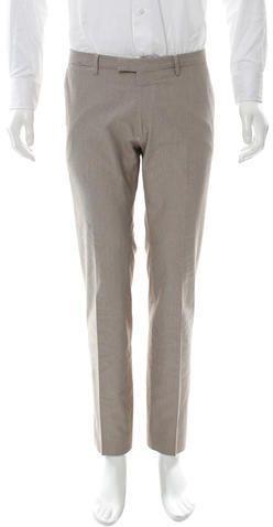 Dries Van Noten Five-Pocket Pinstripe Pants