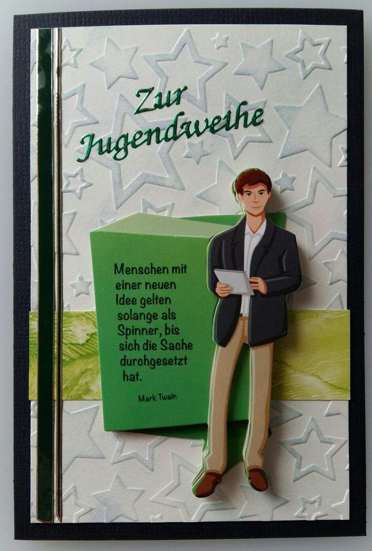 Zur Jugendweihe / Made by Antje Grimm 2016