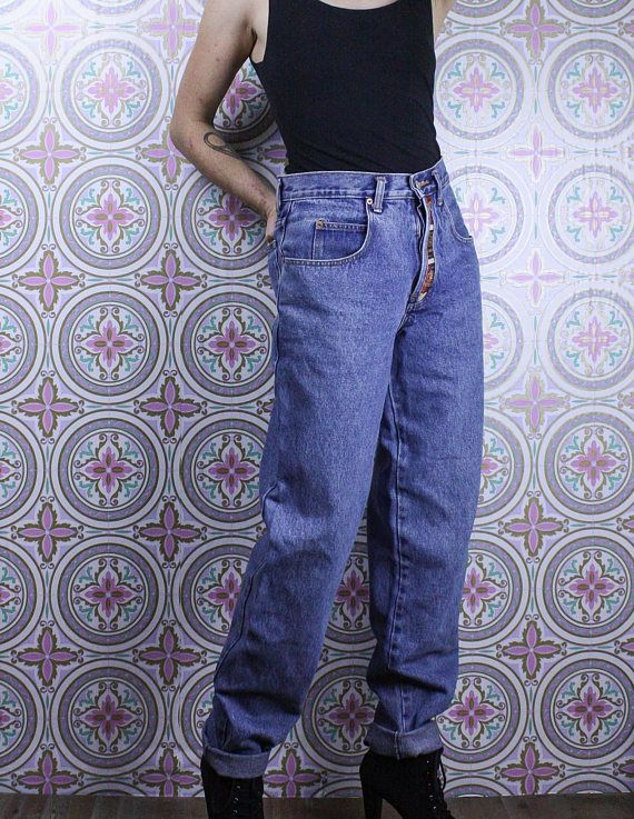Check out this item in my Etsy shop https://www.etsy.com/ca/listing/561257303/90s-button-fly-jeans-high-waisted-blue