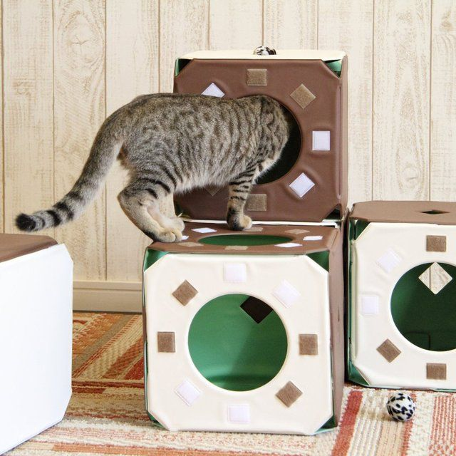 Fancy - Cat Jungle Gym Stackable Cubes