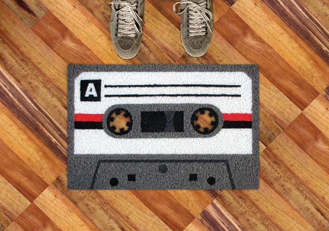 welcome...to the eighties: Tape Doormat, Idea, Stuff, Cassette Tape, By Mats, House, Products, Design