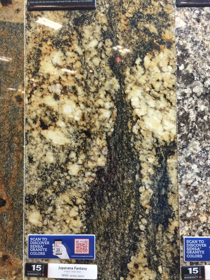 "This granite has medium brown ""background"" as opposed to whiter background in the black persa"