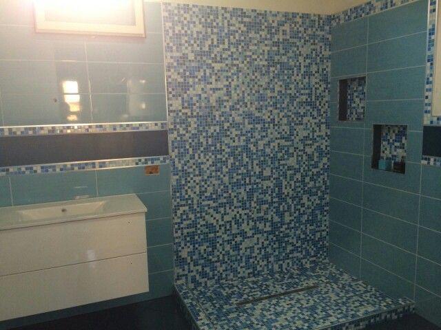 Oltre 25 fantastiche idee su bagno turchese su pinterest - Mosaico blu bagno ...