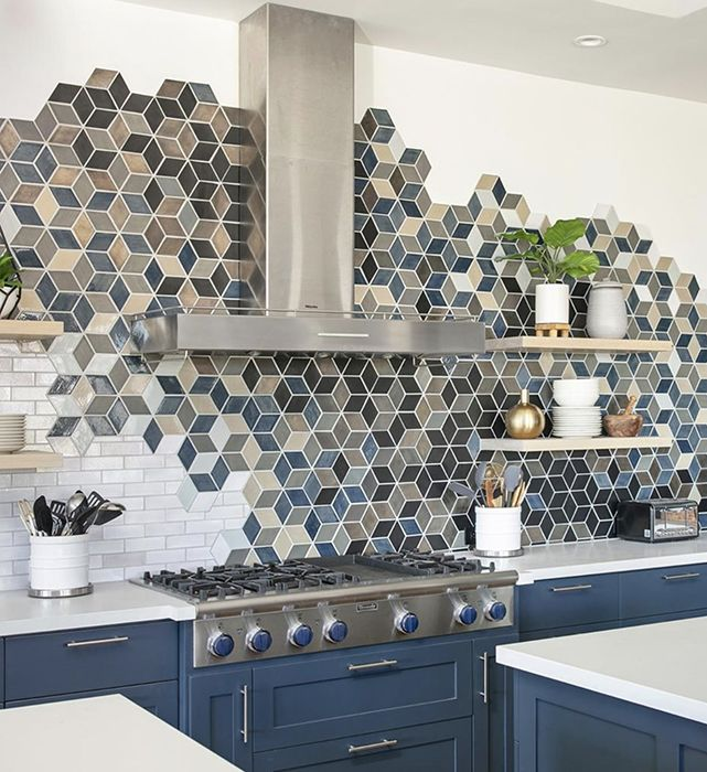 Beautiful Handmade Ceramic Tiles With Mercury Mosaics Iconic