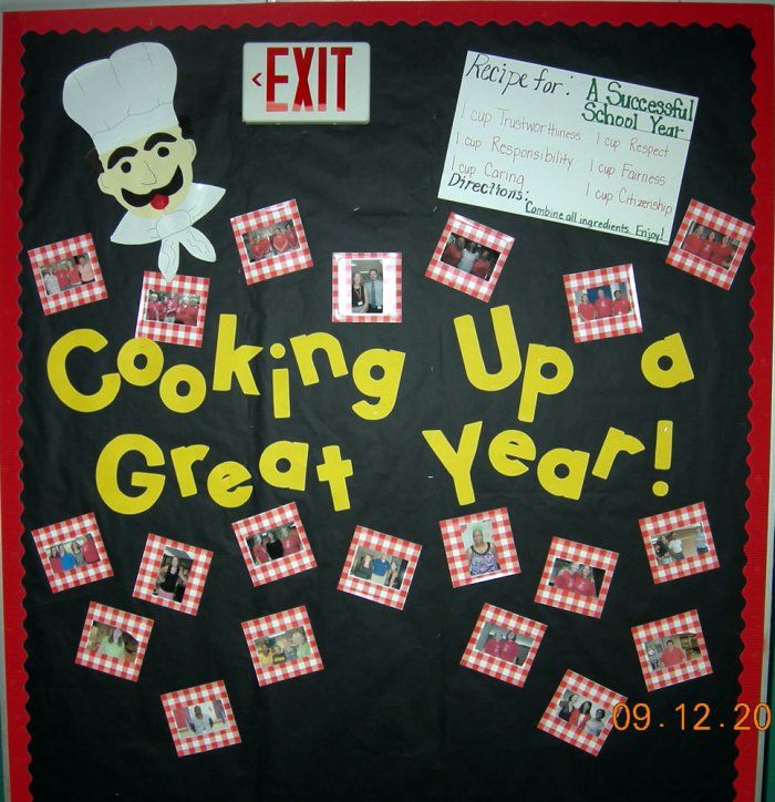 Back To School Bulletin Boards | ... Bulletin Board Display » Conversational Sets Bulletin Board Idea