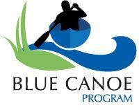 Logo: Blue Canoe Program on Cameron Lake July 21 & 22