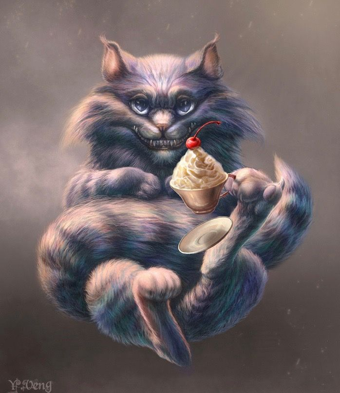 CHESHIRE CAT BY J VENG