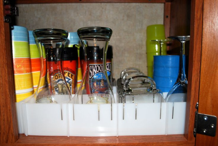 These are so great. We use them in our 5th wheel. My moachalatte machine, my toaster, and my coffee were on the floor, but it kept our glasses, spices, canned and the stuff in the medicine cabinet from fall out on a 16 mile long wash board of a road. This was our trip to the Mojave Desert.