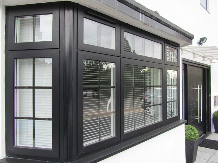 Upvc Black Windows Google Search Curb Appeal In 2019