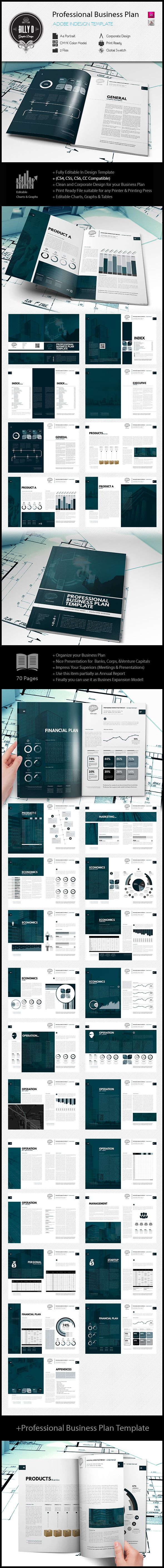 Professional Business Plan Template | The business plan consists of a narrative and several financial worksheets. The narrative template is the body of the business plan. It contains more than 150 questions divided into several sections. Work through the sections in any order that you like, except for the Executive Summary, which should be done last.